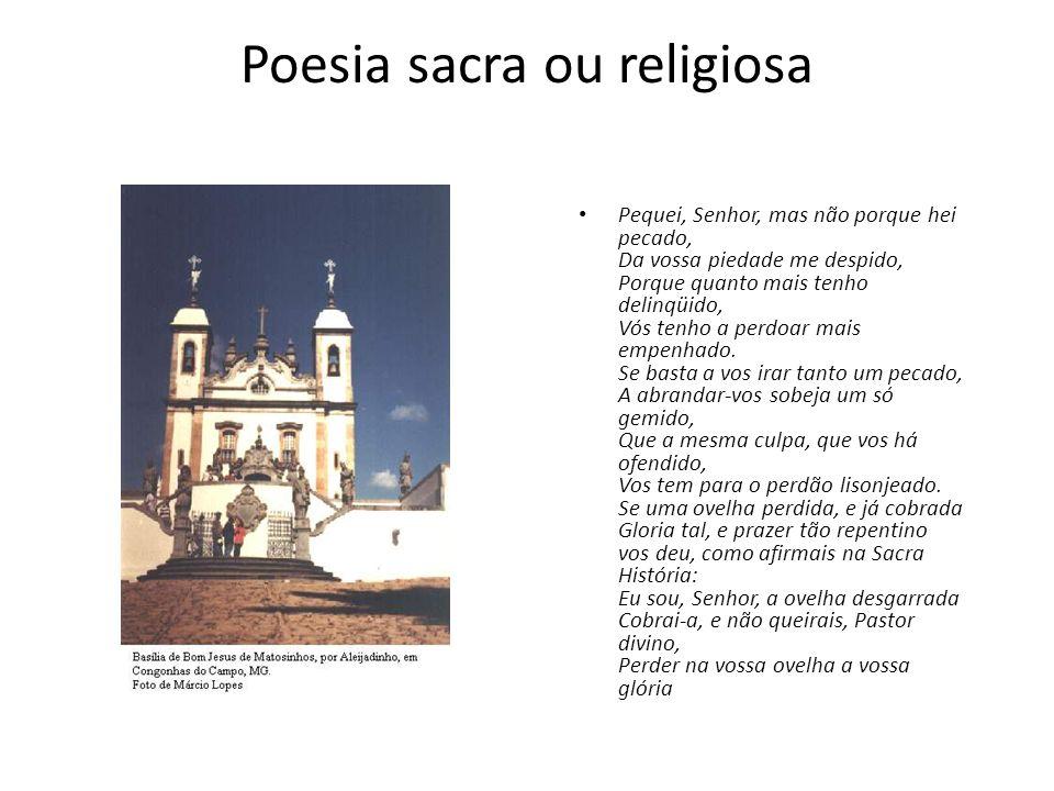 Poesia sacra ou religiosa