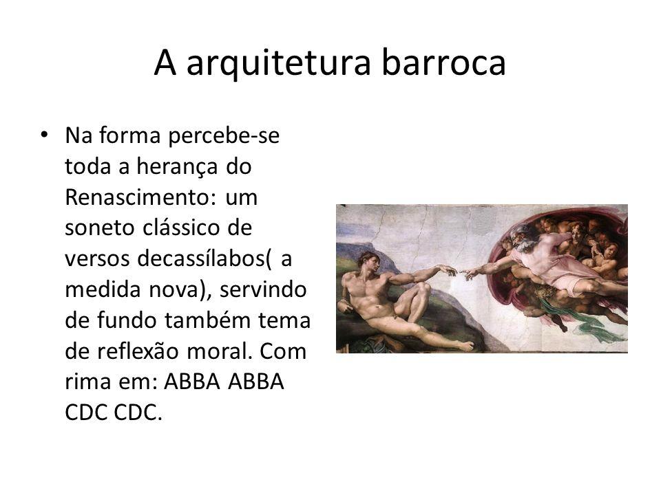 A arquitetura barroca