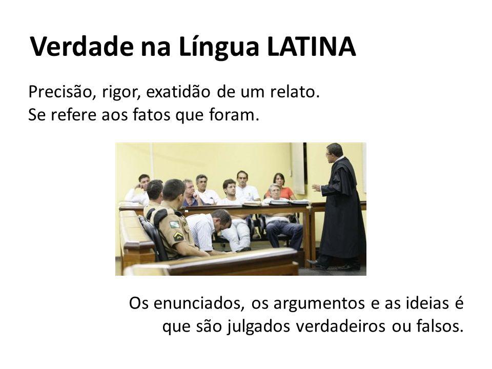 Verdade na Língua LATINA