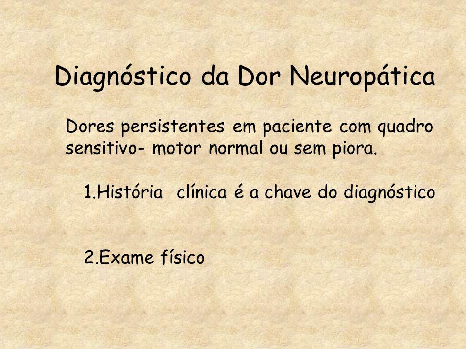 Diagnóstico da Dor Neuropática