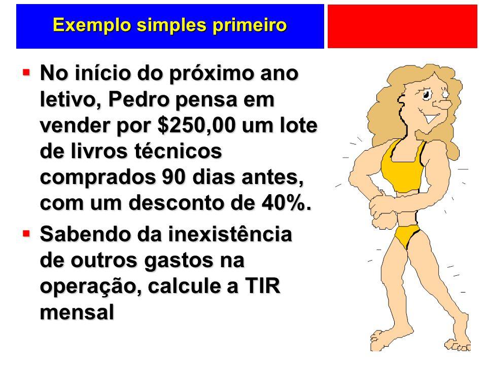 Exemplo simples primeiro