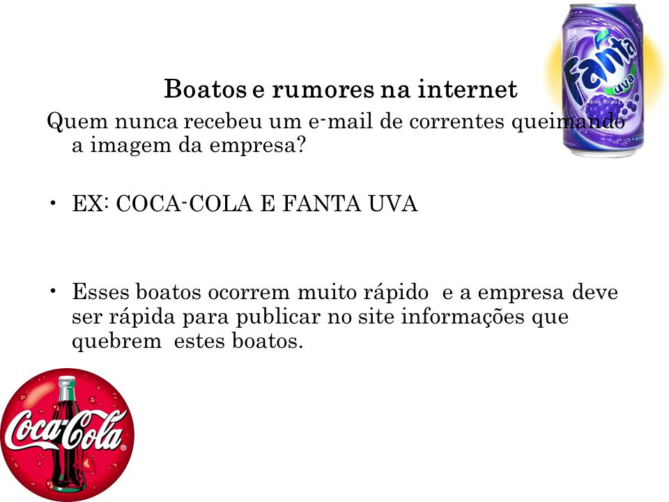 Boatos e rumores na internet