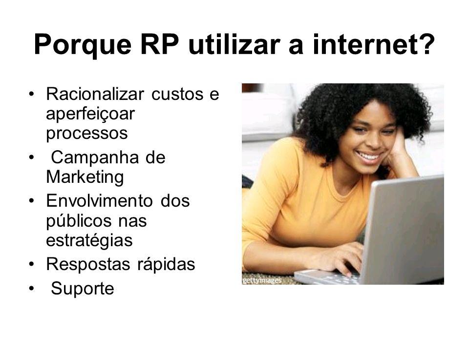 Porque RP utilizar a internet