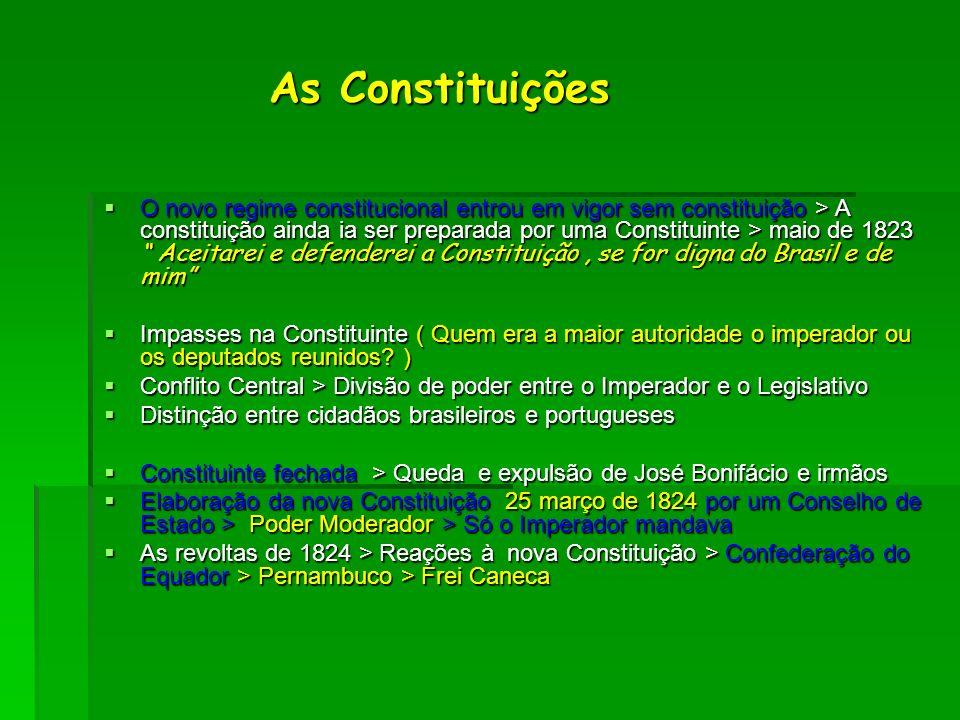 As Constituições