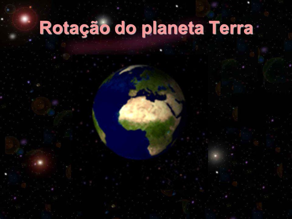 Rotação do planeta Terra