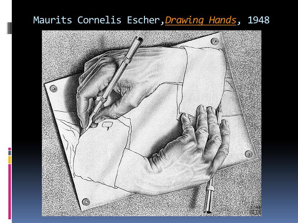 Maurits Cornelis Escher,Drawing Hands, 1948