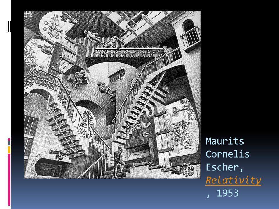 Maurits Cornelis Escher, Relativity, 1953