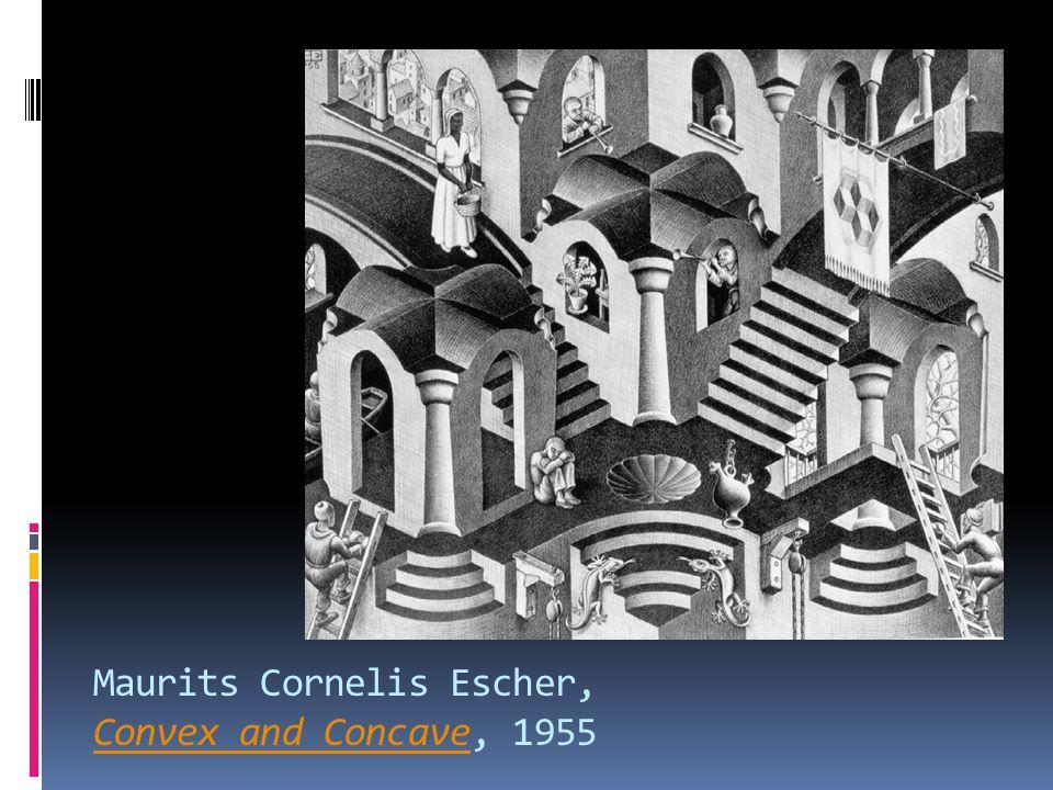 Maurits Cornelis Escher, Convex and Concave, 1955