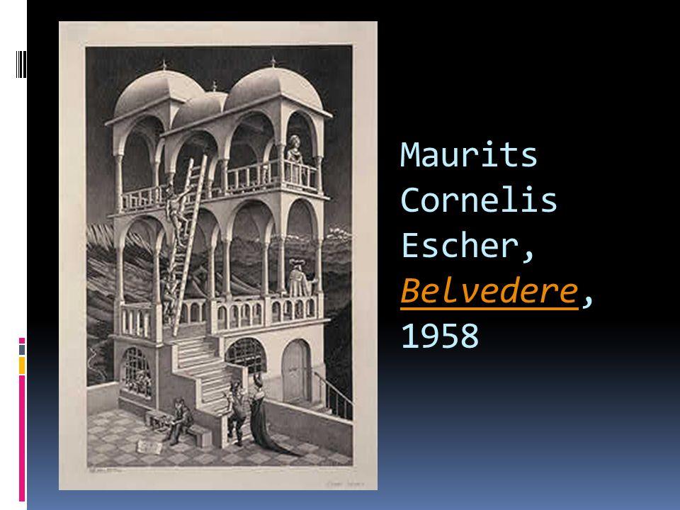 Maurits Cornelis Escher, Belvedere, 1958