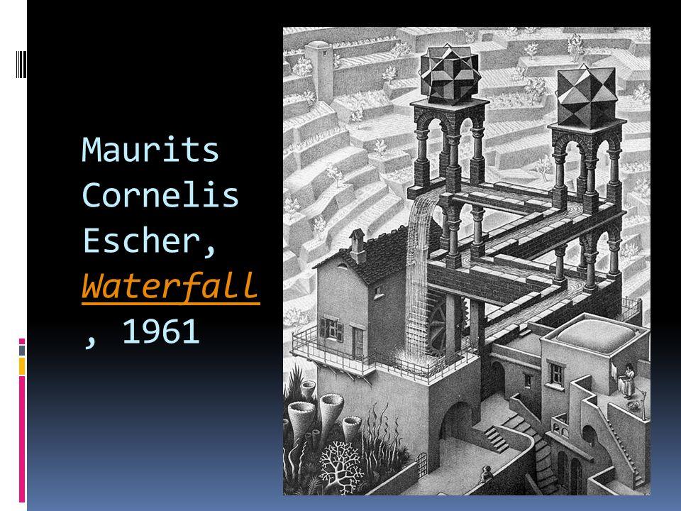 Maurits Cornelis Escher, Waterfall, 1961