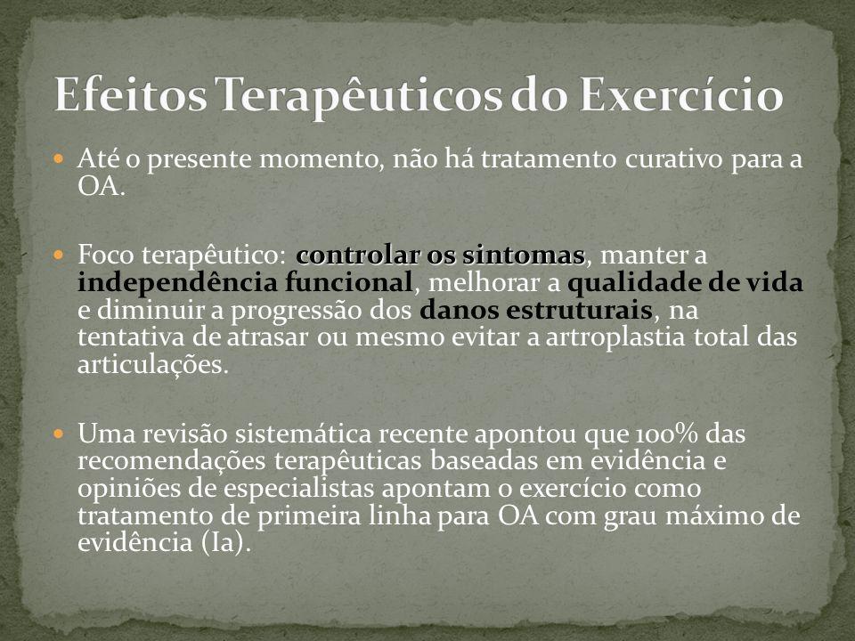 Efeitos Terapêuticos do Exercício