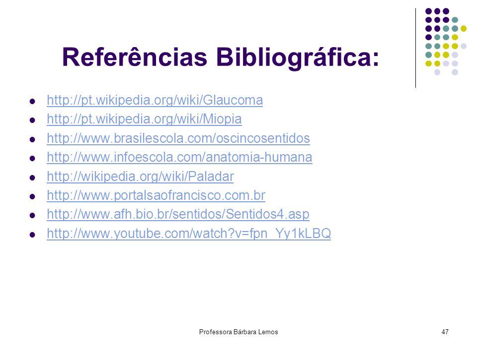 Professora Bárbara Lemos