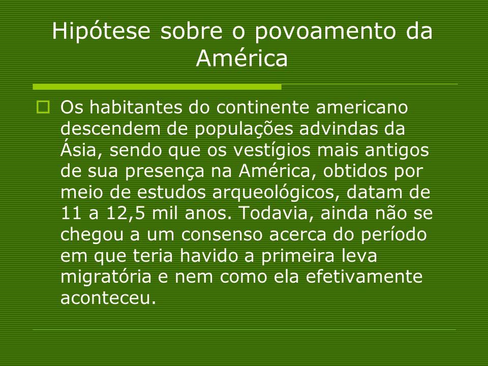 Hipótese sobre o povoamento da América