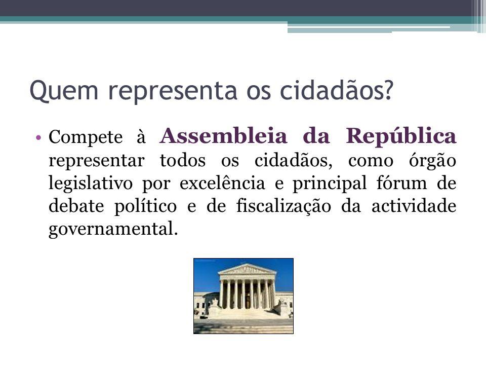 Quem representa os cidadãos
