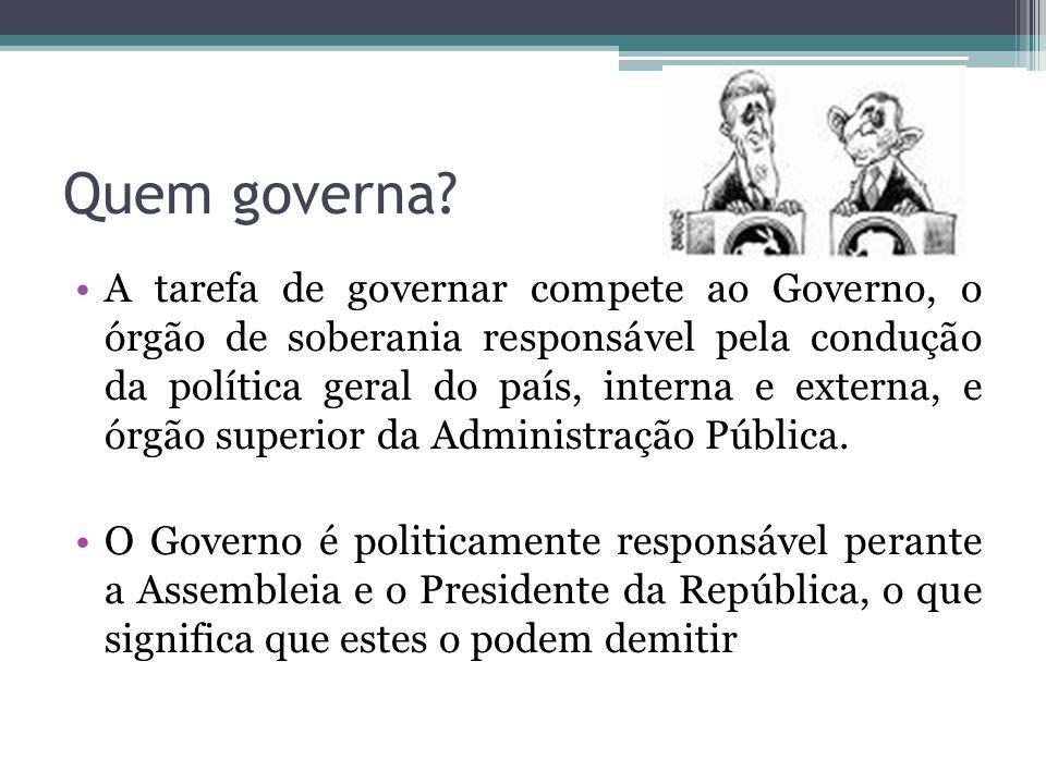 Quem governa
