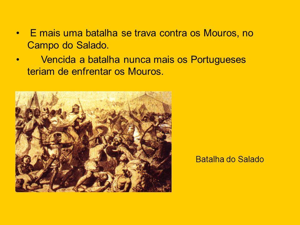 E mais uma batalha se trava contra os Mouros, no Campo do Salado.