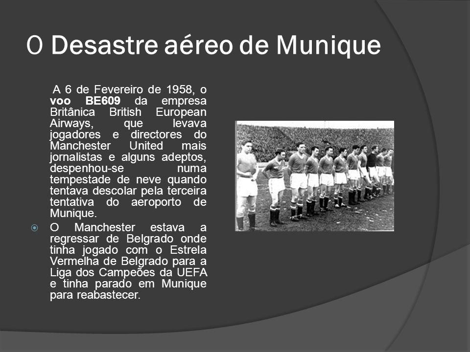 O Desastre aéreo de Munique