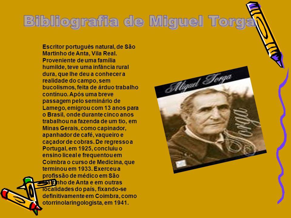 Bibliografia de Miguel Torga