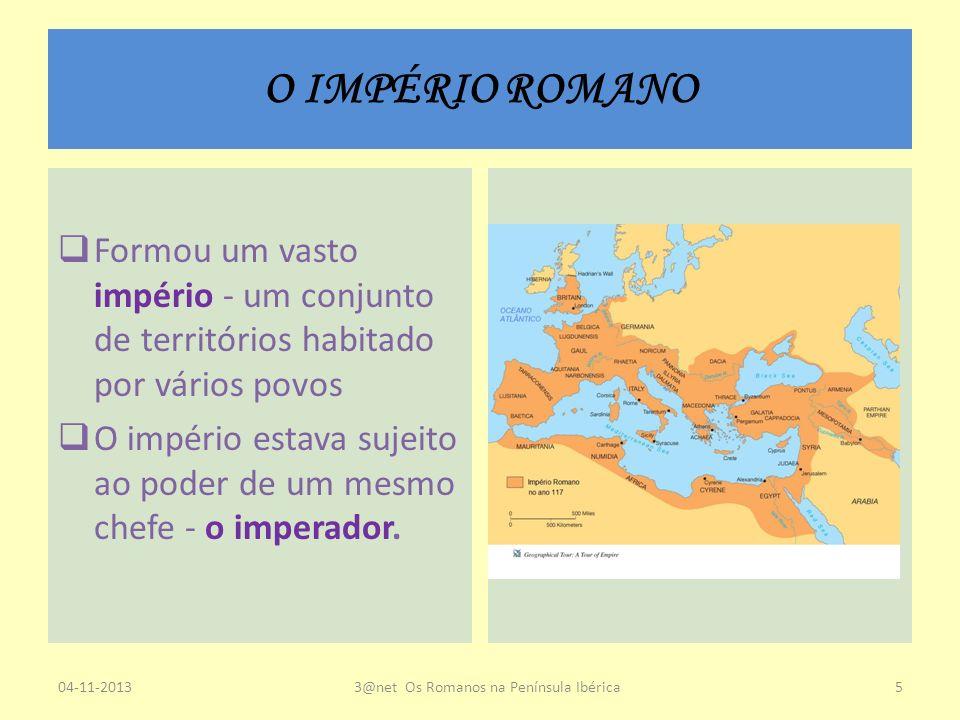 3@net Os Romanos na Península Ibérica