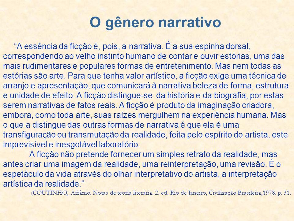 O gênero narrativo