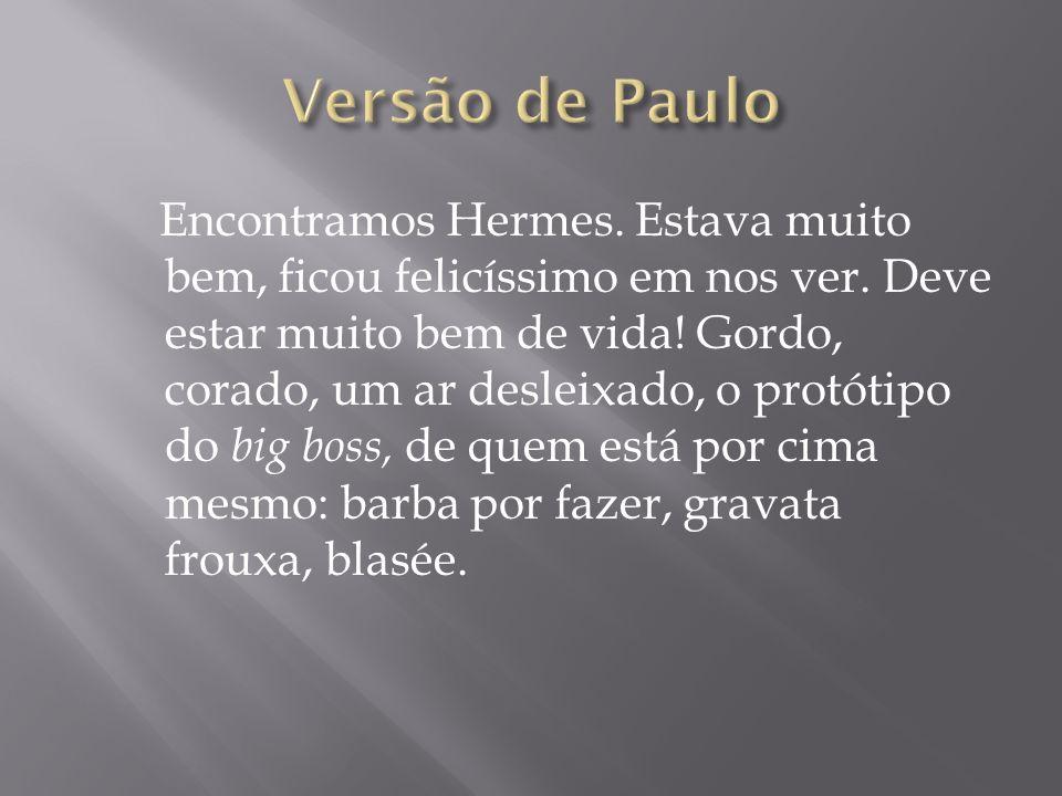 Versão de Paulo