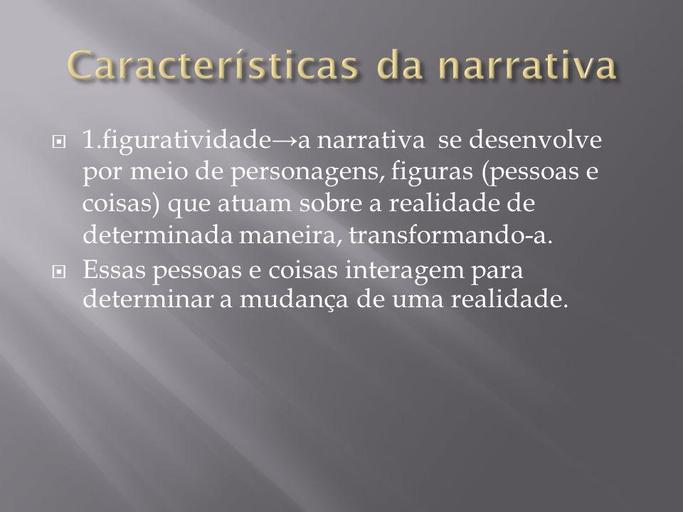 Características da narrativa