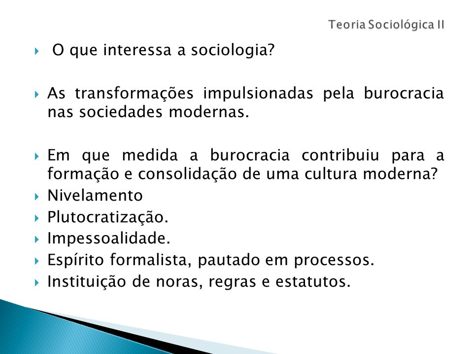 O que interessa a sociologia