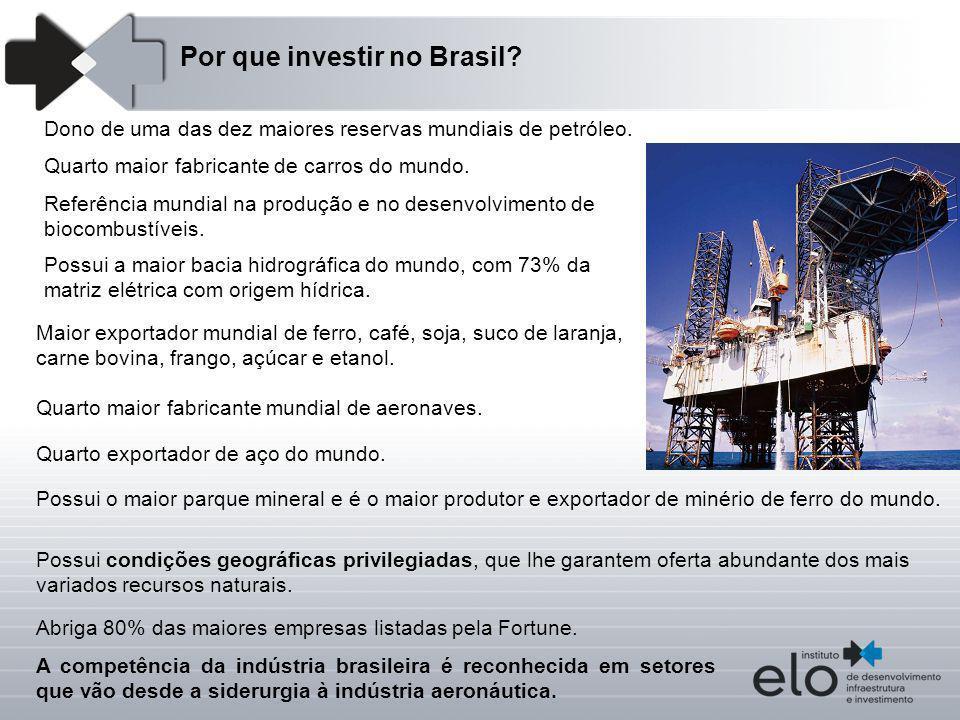 Por que investir no Brasil
