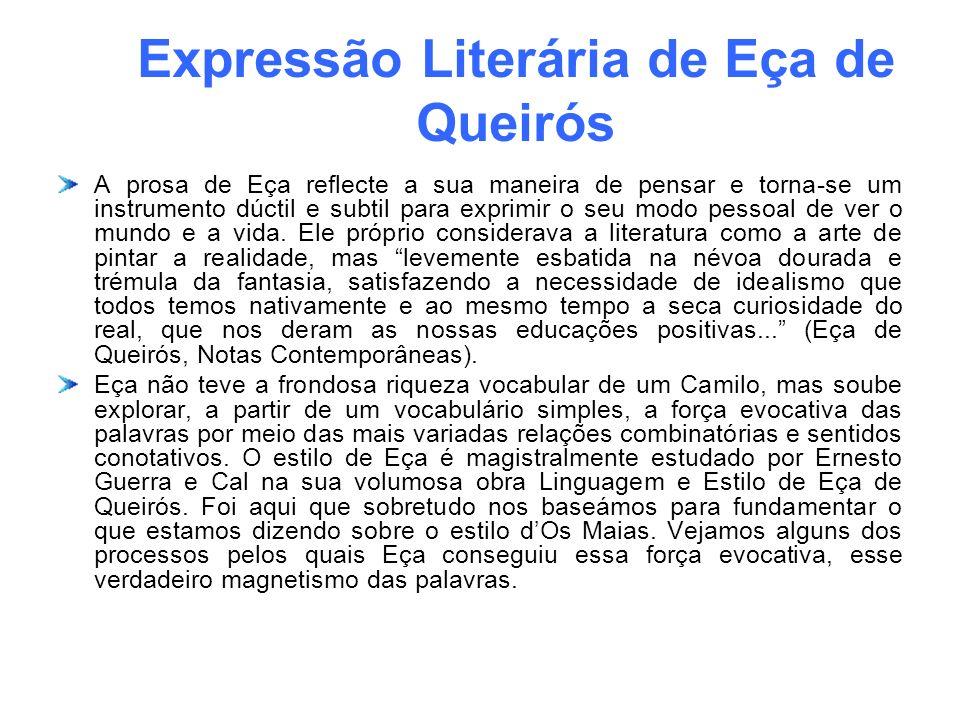 Expressão Literária de Eça de Queirós