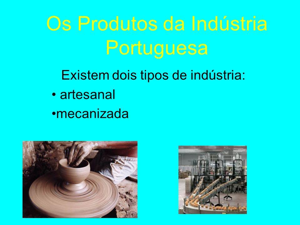 Os Produtos da Indústria Portuguesa