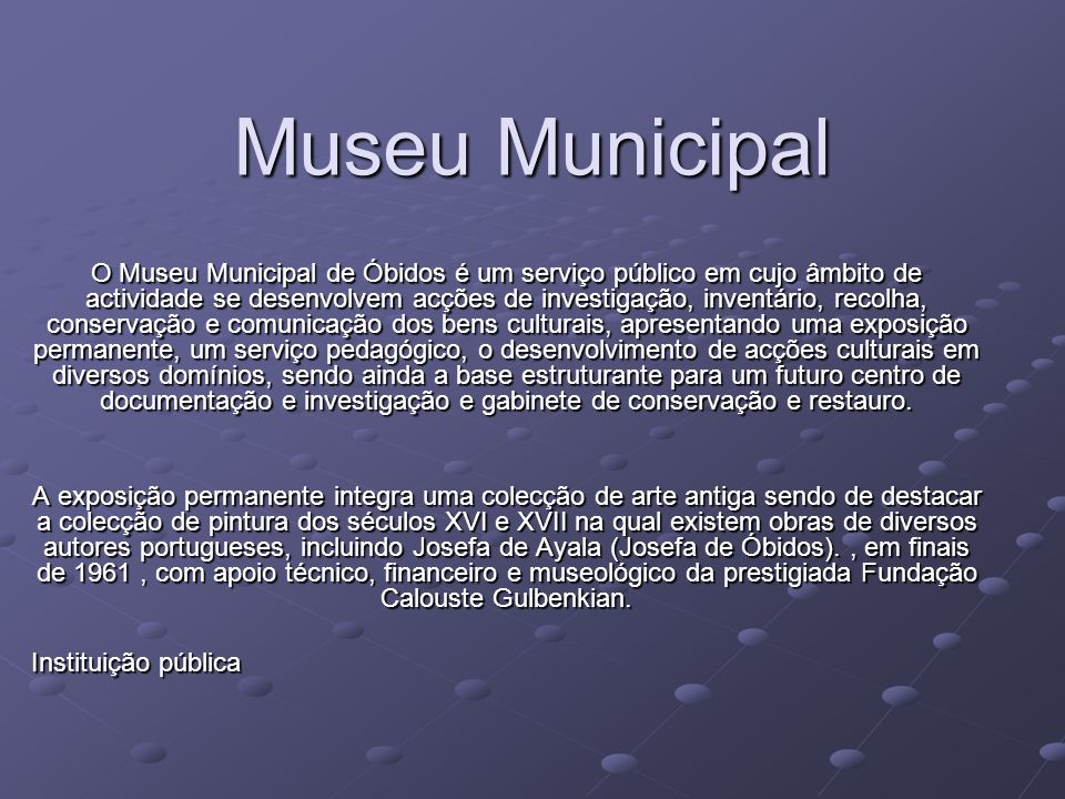Museu Municipal
