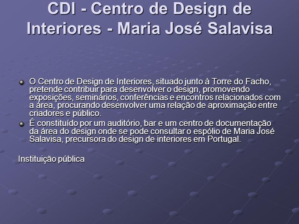CDI - Centro de Design de Interiores - Maria José Salavisa