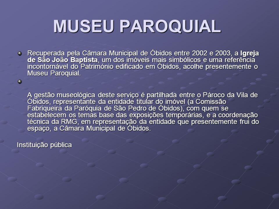 MUSEU PAROQUIAL