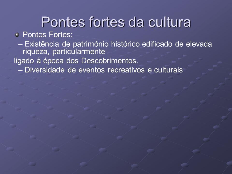 Pontes fortes da cultura