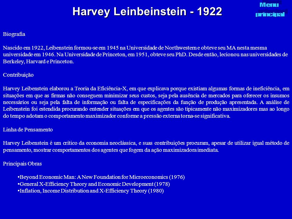 Harvey Leinbeinstein - 1922