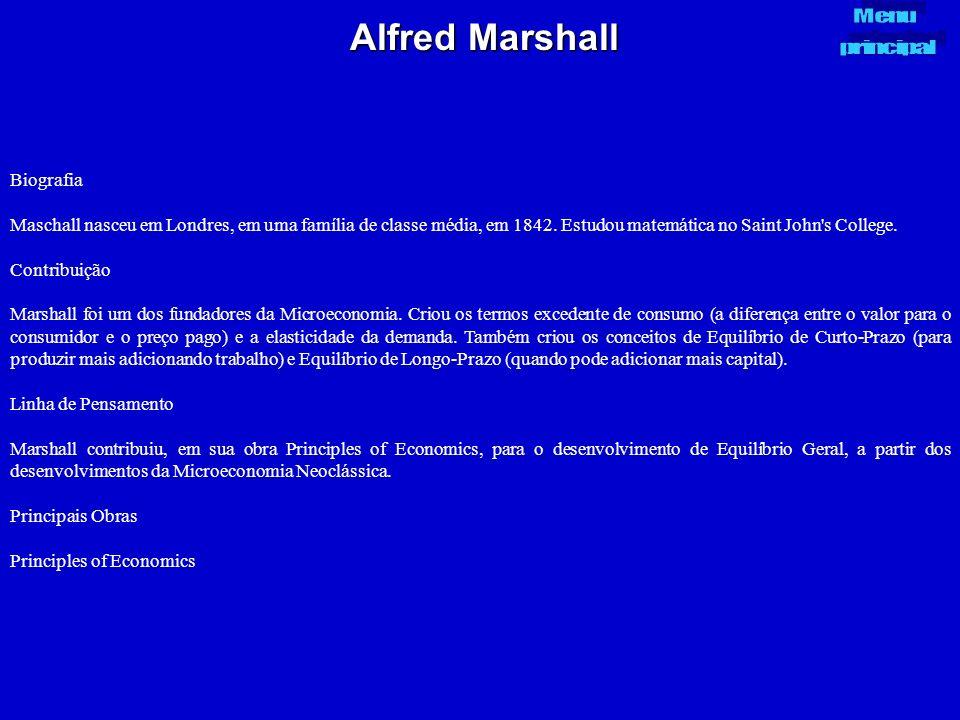 Alfred Marshall Biografia