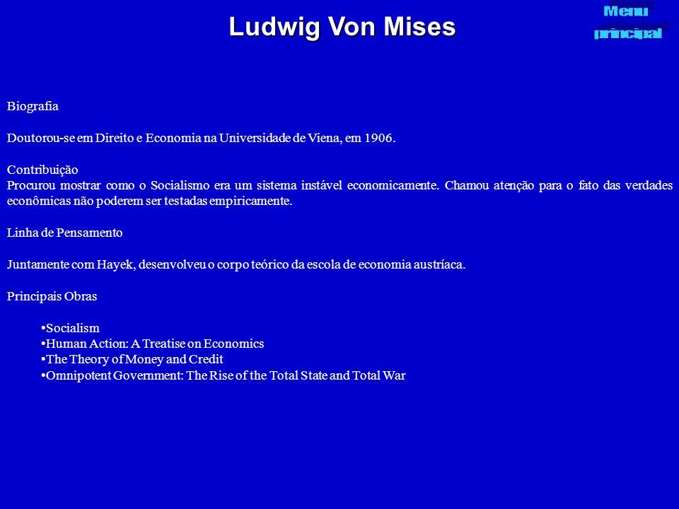 Ludwig Von Mises Biografia