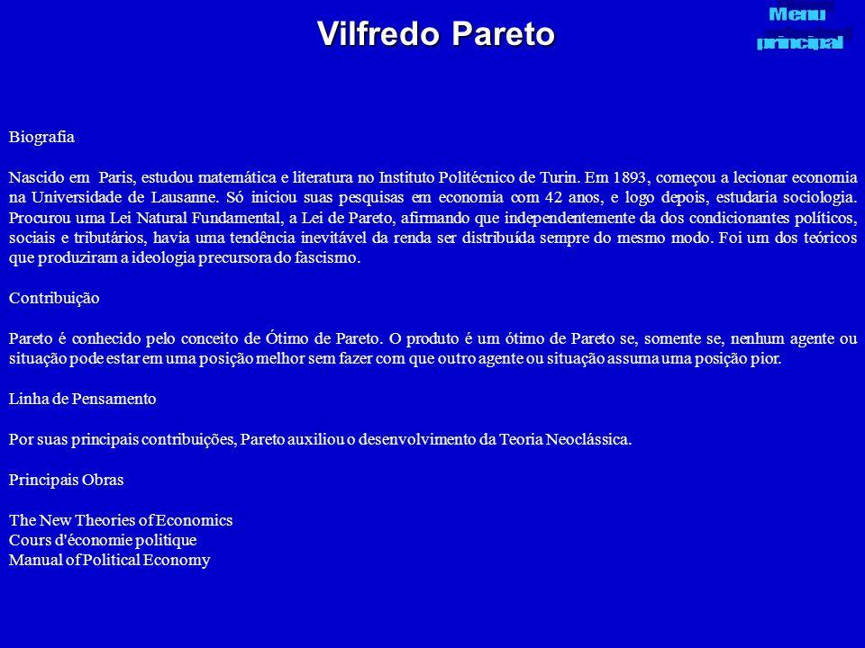 Vilfredo Pareto Biografia