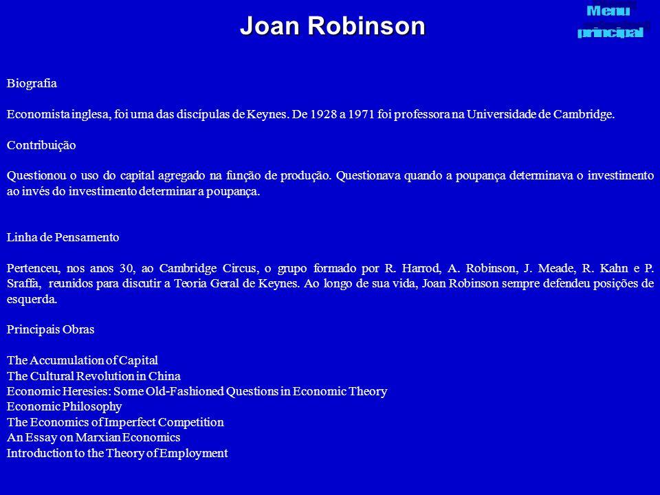 Joan Robinson Biografia