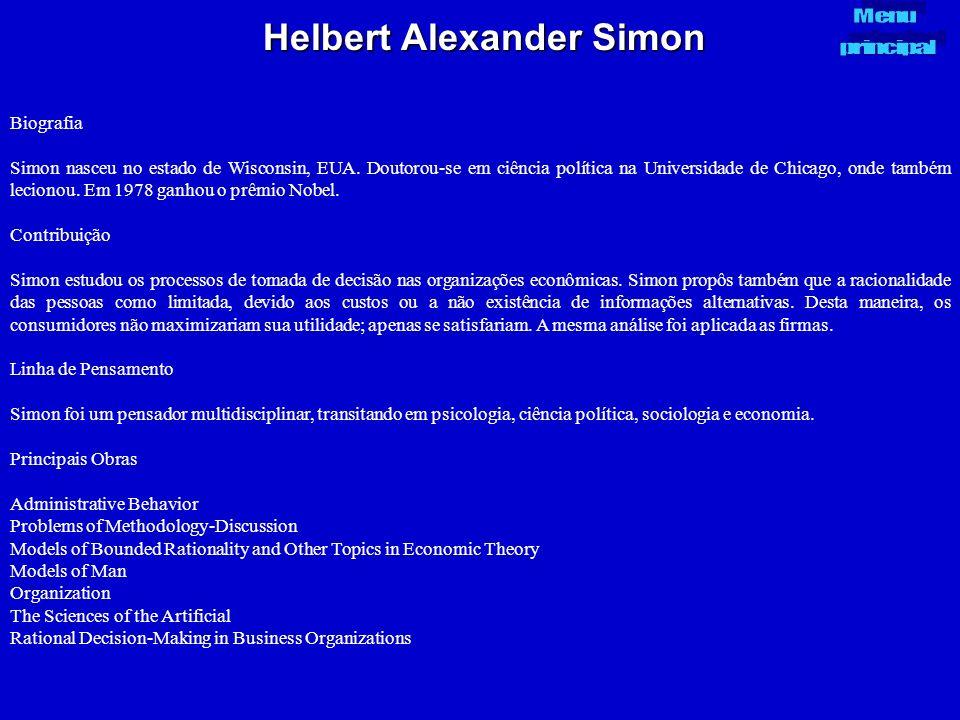Helbert Alexander Simon
