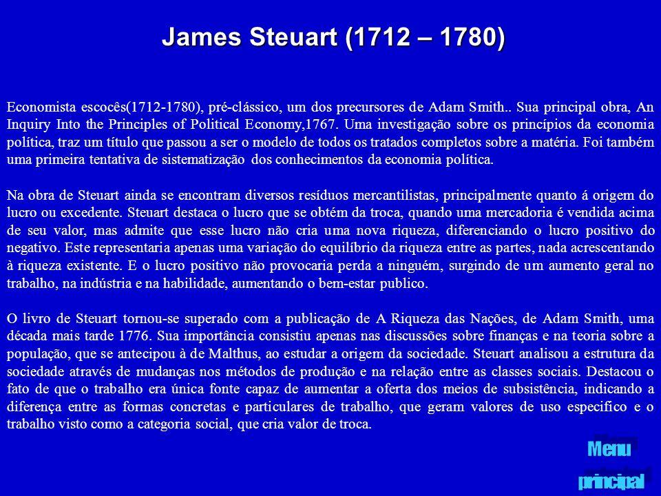 James Steuart (1712 – 1780)