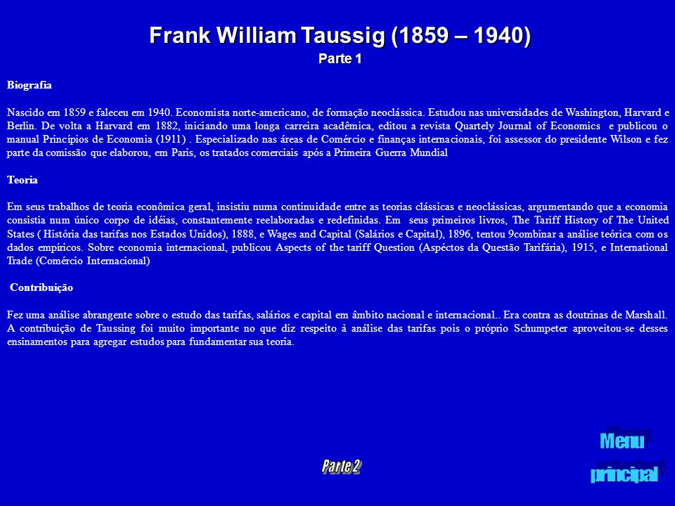 Frank William Taussig (1859 – 1940)