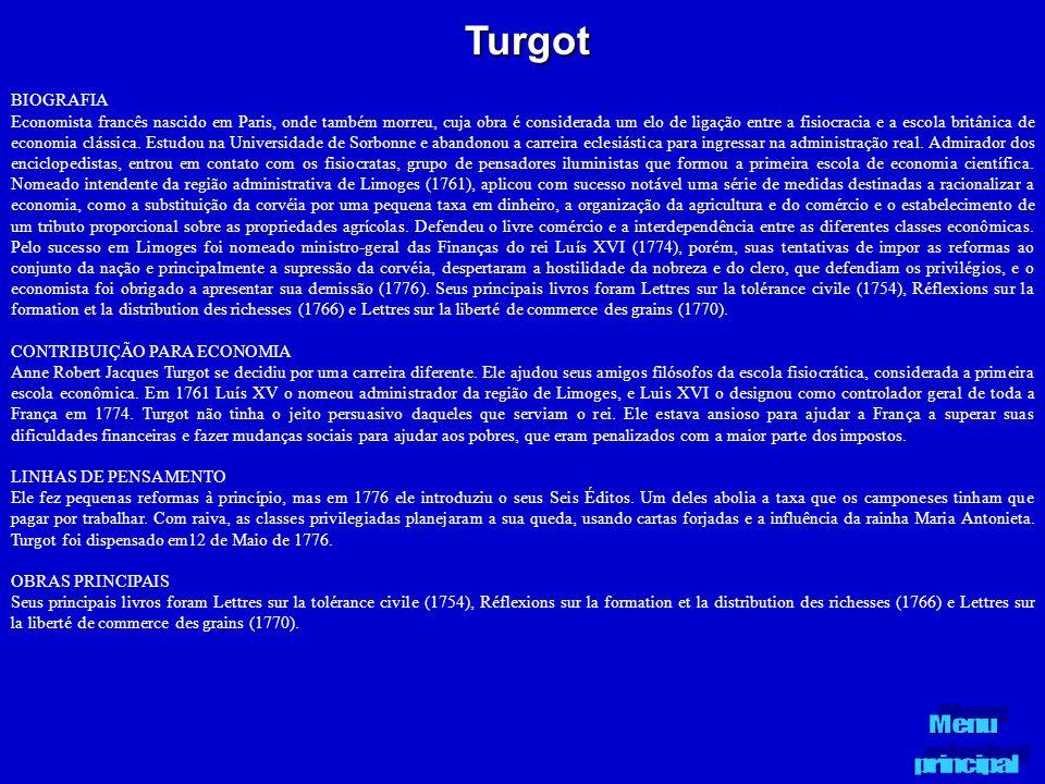 Turgot BIOGRAFIA.