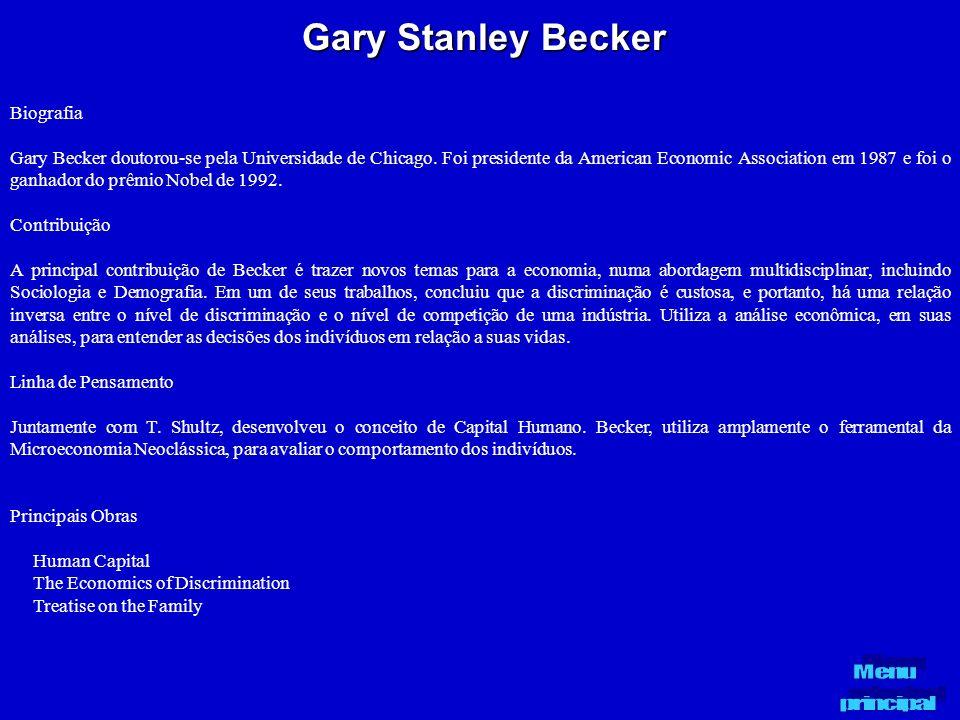 Gary Stanley Becker Biografia