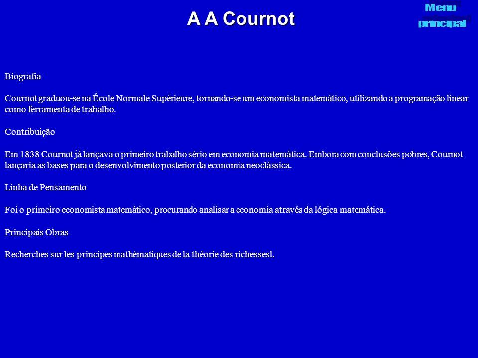 A A Cournot Menu. principal. Biografia.