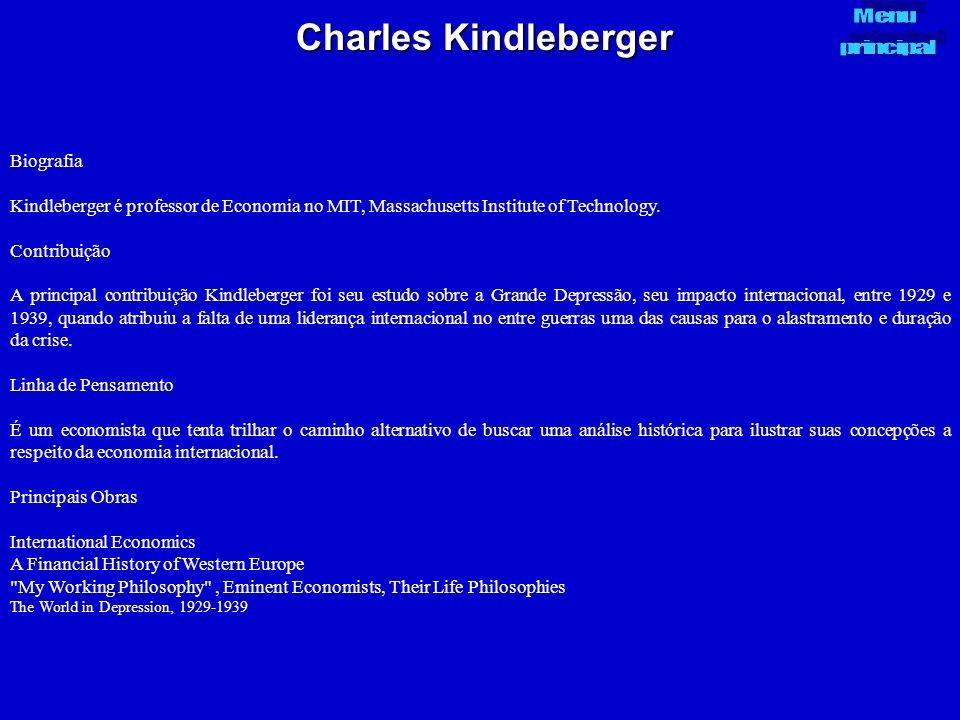 Charles Kindleberger Biografia