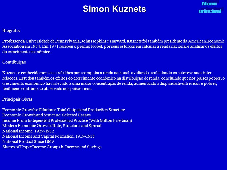 Simon Kuznets Biografia