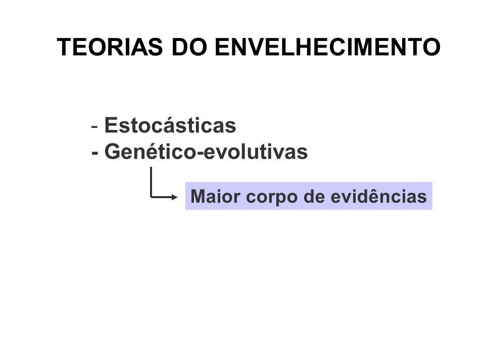 TEORIAS DO ENVELHECIMENTO
