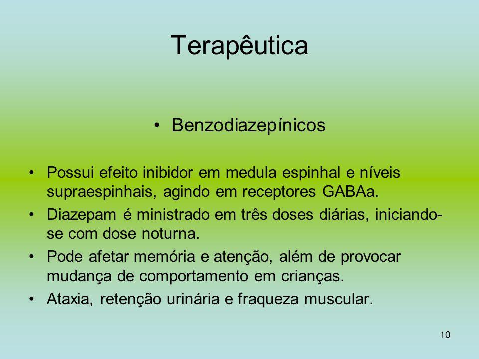 Terapêutica Benzodiazepínicos