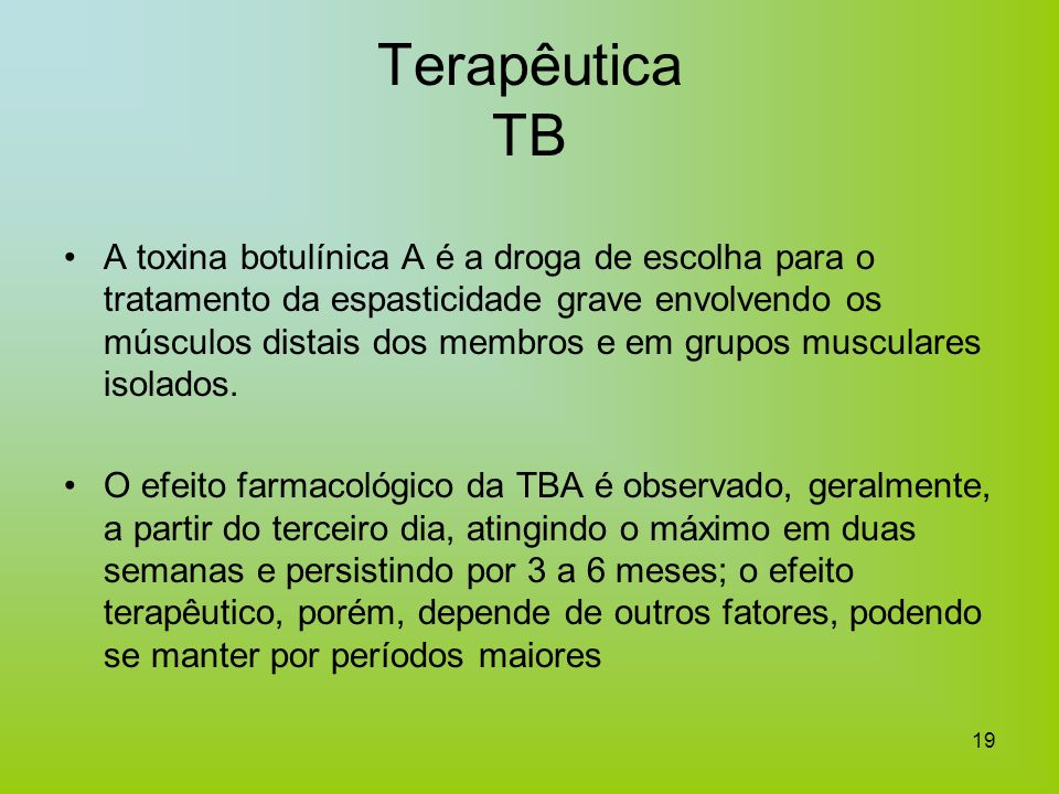 Terapêutica TB